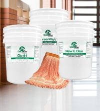 Buy 3 pails floor cleaner get king of mops free